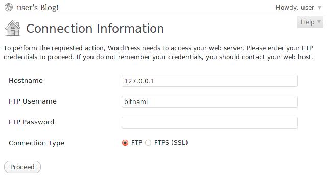 Fix For WordPress Asking FTP Login Details